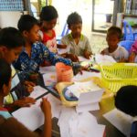 Nourrir, règles d'hygiène, soins et éducation - Atelier dessin - Les restaurants des enfants