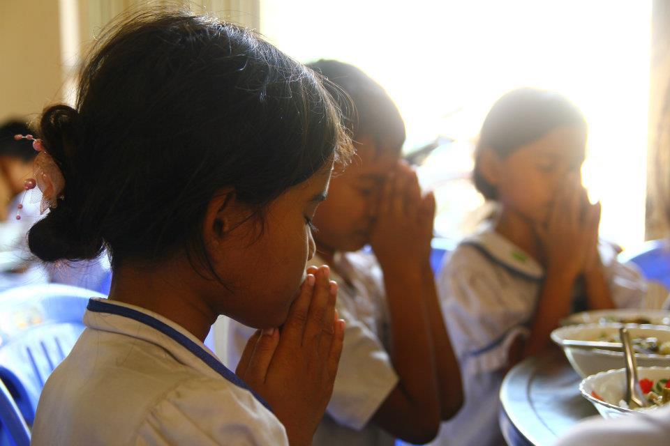 Dons Prière avant repas - Les Restaurants des Enfants